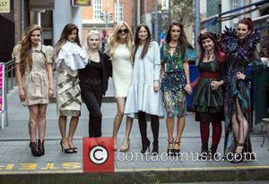 Alina, Isadora Tezolin De Oliveira, Maria Lola Roche, Tiffany Koury, Iryna Belova, Sarah Moore, Claire Garvey and Sinead Murphy