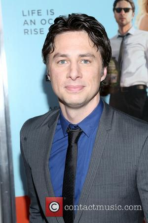Zach Braff - A screening of 'Wish I Was Here' held at AMC Lincoln Square Theater - Arrivals - New...