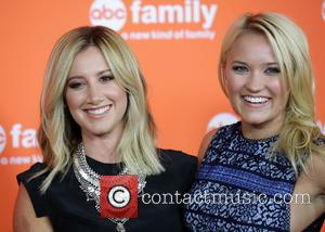 Ashley Tisdale and Emily Osment - Disney   ABC TCA 2014 Summer Press Tour at Beverly Hilton Hotel - Los...