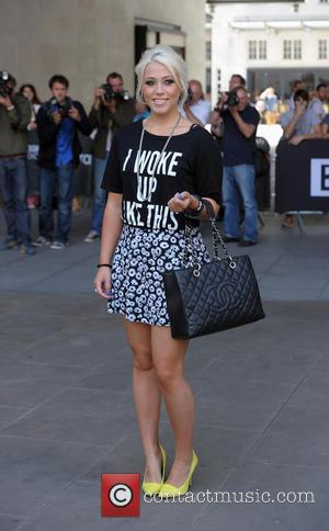 Amelia Lily - Amelia Lily leaving the Radio 1 Studios - London, United Kingdom - Tuesday 15th July 2014