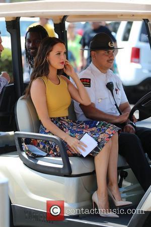 Camilla Luddington - Camilla Luddington appears on Extra hosted by Mario Lopez. - Los Angeles, California, United States - Tuesday...