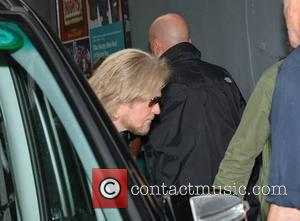 Daryl Hall - Daryl Hall & John Oates at The Olympia Theatre stage door where they play a concert tonight,...