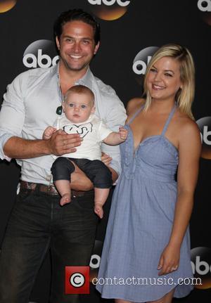Brandon Barash, Harper Barash and Kirsten Storms
