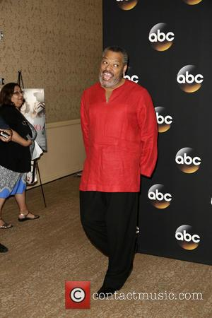 Laurence Fishburne - Celebrities attend Disney | ABC TCA 2014 Summer Press Tour at The Beverly Hilton hotel - Arrivals...