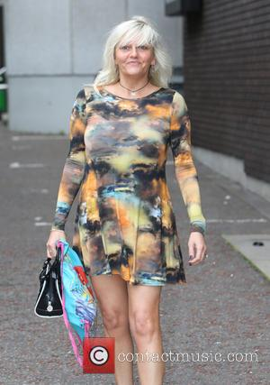 Camille Coduri - Camille Coduri outside ITV Studios - London, United Kingdom - Tuesday 15th July 2014