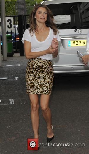 Keri Russell - Keri Russell at the ITV Studios - London, United Kingdom - Tuesday 15th July 2014