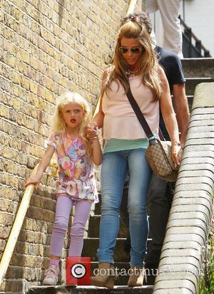 Katie Price and Jordan - Katie Price, Princess Tiiaami - London, United Kingdom - Tuesday 15th July 2014