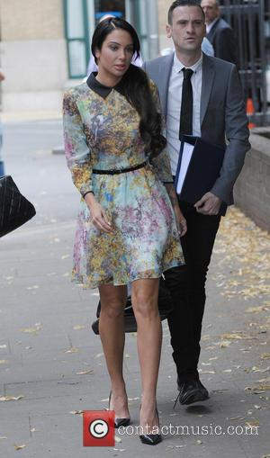 Tulisa Contostavlos - Tulisa Arriving at Southwark Crown Court - London, United Kingdom - Tuesday 15th July 2014