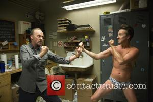 Michael Keaton and Edward Norton - ALEJANDRO GONZALEZ INARRITU (DIR) -  - Wednesday 16th July 2014