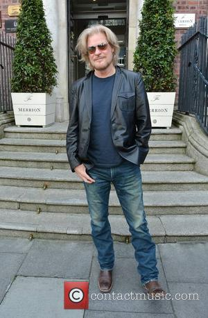 Daryl Hall - Legendary 80s band Hall & Oates, Daryl Hall & John Oates, depart The Merrion Hotel by the...