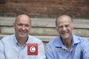 Sir Ranulph Fiennes and Jim Mcneill