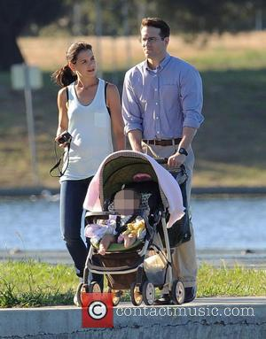 Katie Holmes and Ryan Reynolds