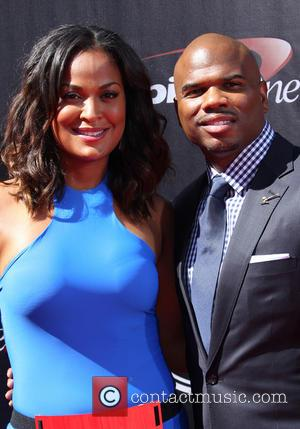 Laila Ali and Curits Conway - 2014 ESPYS Awards - Arrivals - Los Angeles, California, United States - Wednesday 16th...