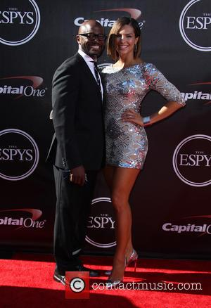 Taye Diggs and Amanza Smith Brown - 2014 ESPYS Awards - Arrivals - Los Angeles, California, United States - Wednesday...