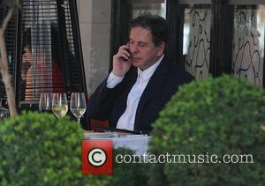 Charles Saatchi - Charles Saatchi and girlfriend, Trinny Woodall have dinner together at Scott's Restaurant in Mayfair - London, United...
