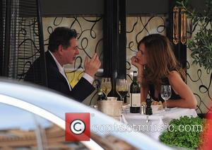Charles Saatchi and Trinny Woodall