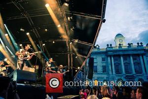 Alex Kapranos, Nick Mccarthy, Bob Hardy and Atmosphere