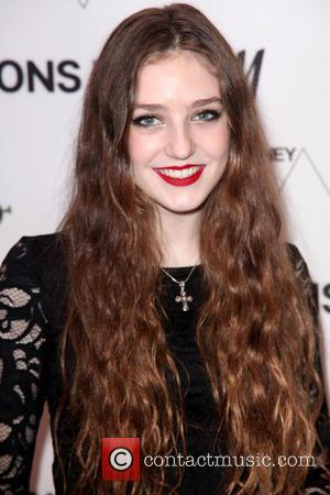 Birdy and Jasmine van den Bogaerde - H&M 5th Avenue flasgship store opening event - Arrivals - NYC, New York,...