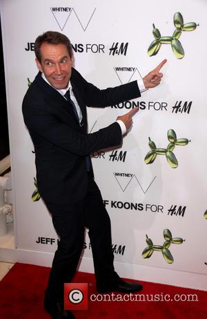 Jeff Koons - H&M 5th Avenue flasgship store opening event - Arrivals - NYC, New York, United States - Wednesday...