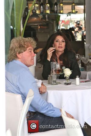 Lisa Vanderpump and Ken Todd - Lisa Vanderpump and husband Ken enjoy lunch together at Villa Blanca in Beverly Hills...
