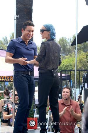 Mario Lopez and Nicole Richie