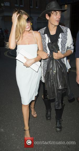Abbey Clancy - Calvin Klein Jeans party at Rosenfeld Porcini - London, United Kingdom - Thursday 17th July 2014