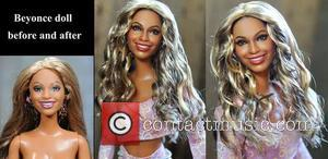 Beyonce and Beyonce Knowles - Accomplishing this feat requires many photos of the famous person/character, plenty of time, and a...