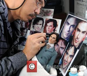Ian Somerhalder - Celebrity dolls brought to life
