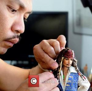 Johnny Depp, Captain Jack Sparrow and Noel Cruz - Accomplishing this feat requires many photos of the famous person/character, plenty...