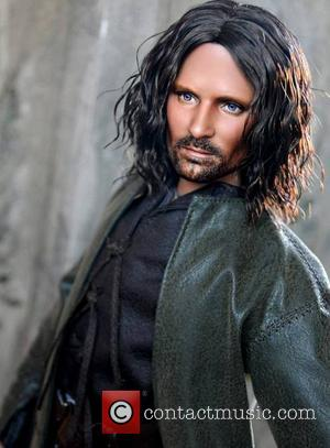 Viggo Mortensen and Aragorn - Accomplishing this feat requires many photos of the famous person/character, plenty of time, and a...