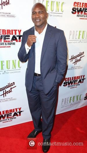 Evander Holyfield - ESPY Awards after party at The Palm restaurant - Arrivals - Los Angeles, California, United States -...