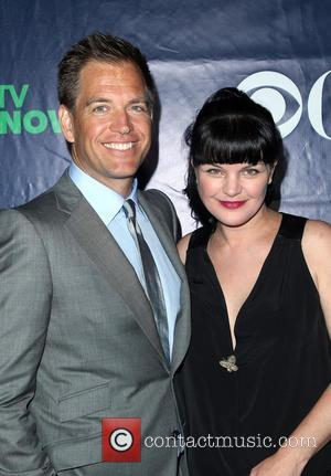 Michael Weatherly and Pauley Perrette