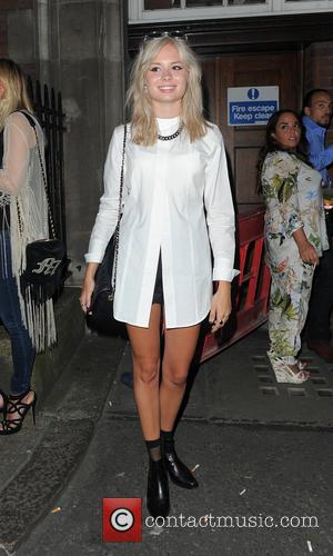 Nina Nesbitt - Calvin Klein Jeans and mytheresa.com party at Rosenfeld Porcini - London, United Kingdom - Thursday 17th July...