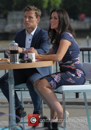 Ben Shephard and Susana Reid - Celebrities outside the ITV Studios - London, United Kingdom - Thursday 17th July 2014