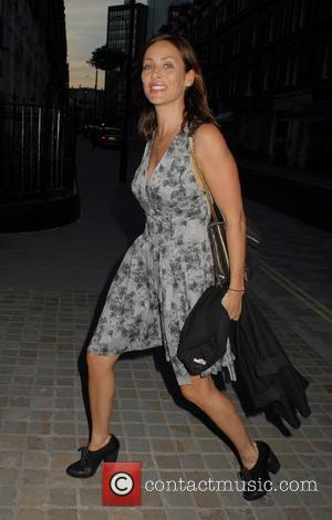 Natalie Imbruglia - Celebrities at Chiltern Firehouse - London, United Kingdom - Thursday 17th July 2014