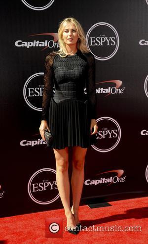 Maria Sharapova - 2014 ESPYS Awards - Arrivals - Los Angeles, California, United States - Thursday 17th July 2014