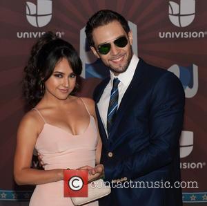 becky g and isaac reyes - Premios Juventud 2014 at The BankUnited Center - Arrivals - Coral Gables, Florida, United...