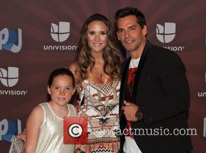 Cristian de la Fuente - Premios Juventud 2014 at The BankUnited Center - Arrivals - Miami Beach, Florida, United States...