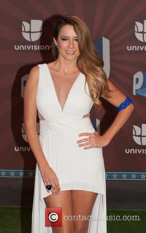 Karla Gomez - Premios Juventud 2014 at The BankUnited Center - Arrivals - Miami Beach, Florida, United States - Thursday...