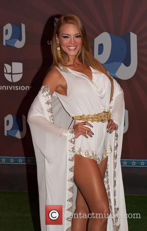 zuleyka rivera - Premios Juventud 2014 at The BankUnited Center - Arrivals - Coral Gables, Florida, United States - Thursday...