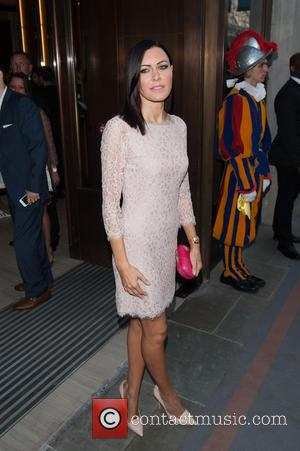 Linzi Stoppard - Watches of Switzerland - flagship store launch party held on Regents Street. - London, United Kingdom -...