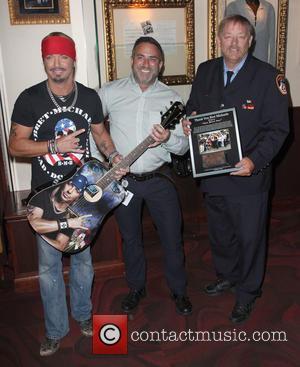 Bret Michaels, Daniel Sarroino and Ray Pfefer