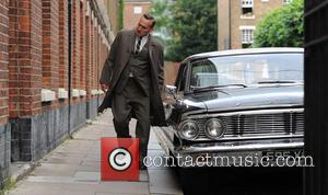 Christopher Eccleston - On the set of 'Legend' in East...