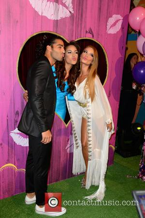Jason Canela, Nabila Tapia and Zuleyka Rivera