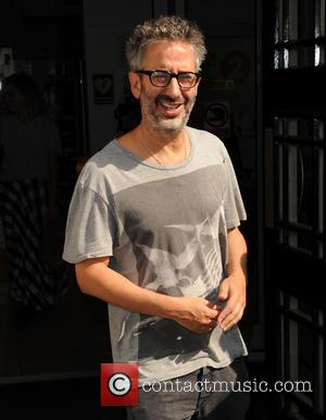 David Baddiel - Celebrities at BBC Radio 2 - London, United Kingdom - Friday 18th July 2014