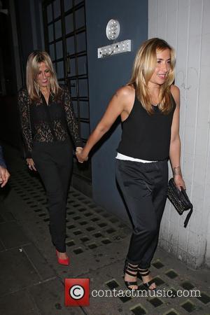 Nicole Appleton and Natalie Appleton - Various at Groucho Club - London, United Kingdom - Friday 18th July 2014