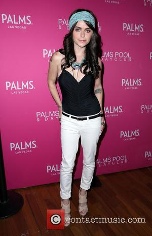 Taryn Manning - 'Orange is The New Black' actress Taryn Manning arrives at Palms Pool & Dayclub for a guest...