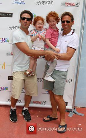 Mark Feuerstein and Jacob Feuerstein - CMEE 6th Annual Family Fair held at the Children's Museum of the East End...