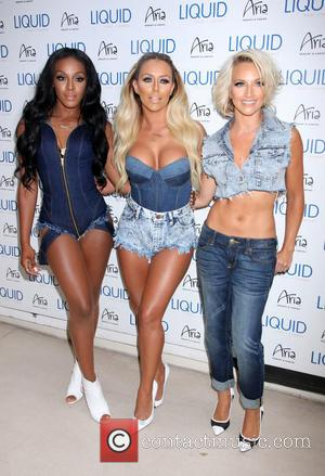 Danity Kane - Danity Kane take over Liquid Pool & Dayclub inside Aria Resort & Casino - Las Vegas, Nevada,...