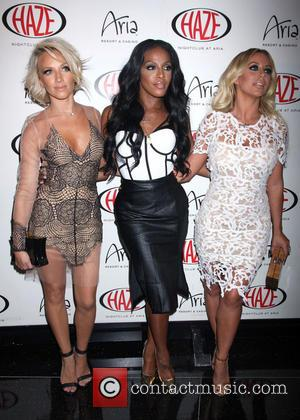 Danity Kane, Shannon Bex, Dawn Richard and Aubrey O'Day - Danity Kane perform at Haze Nightclub at Aria Resort &...